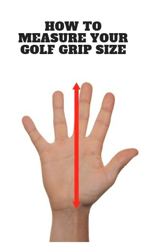 How To Measure The Proper Golf Grip Size